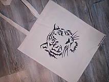 Nákupné tašky - Maľovaná taška - 8879717_