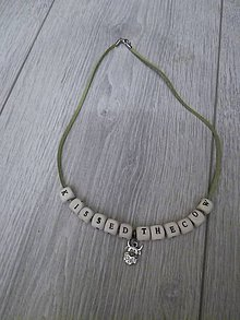 Iné šperky - Retiazka kissedthecow - 8883549_