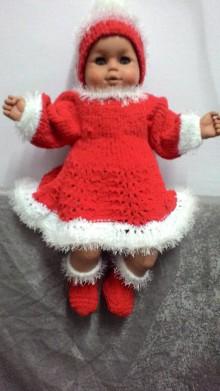 Detské oblečenie - Vianočná súpravička -vhodná aj na vianočné fotenie - 8884150_