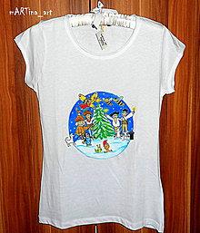 Tričká - Rozprávkové Vianoce - 8882890_