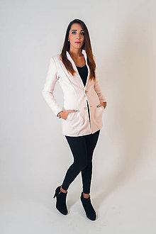 Kabáty - Ružový kabátik - 8880948_