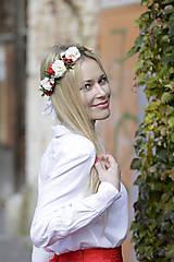 Ozdoby do vlasov - Venček Caroline - 8882891_