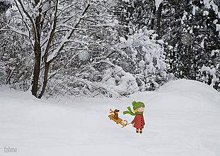 Grafika - Zimná rozprávka - 8884008_