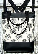 """Batohy - """"backpack 3in1 - stromy1"""" -  batoh & taška cez rameno - 8880276_"""