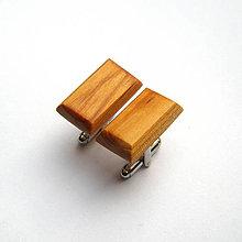Šperky - Cédrové obdĺžničky - 8883579_