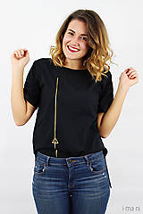 - Dámske tričko čierne IO11 (S) - 8879912_