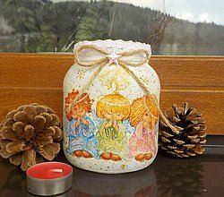 Svietidlá a sviečky - Svietnik -anieliky - 8887930_