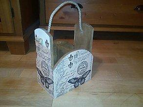 Krabičky - vintage motýľ - 8888381_