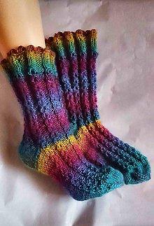 Obuv - Pestrofarebné ponožky - 8885303_