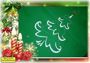 Iné tašky - Vianočné vrecúško - 8886789_