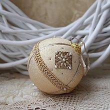 Dekorácie - Vianočná guľa *76 - 8889100_