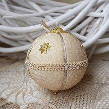 Dekorácie - Vianočná guľa *77 - 8889107_