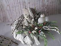 Dekorácie - Vianočná dekorácia - 8886296_