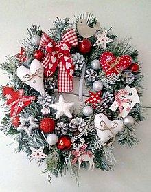 Dekorácie - Vianočný venček IV - 8886742_
