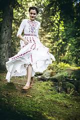 Šaty - Saténové svadobné šaty Slavianka - 8885890_