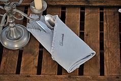 Úžitkový textil - Personalizácia ľanových výrobkov - 8887561_