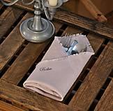 Úžitkový textil - Personalizácia ľanových výrobkov - 8887563_