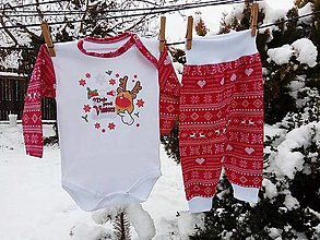 Detské súpravy - Vianočná súprava - prvé Vianoce - 8886816_