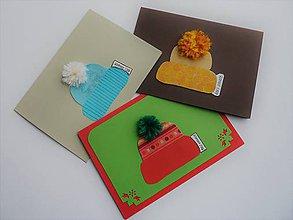 Papiernictvo - červená čiapka - 8885920_
