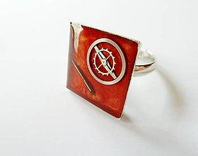 Prstene - Prsteň 1,7 cm - 8884751_
