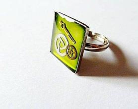 Prstene - Prsteň 1,7 cm - 8884764_