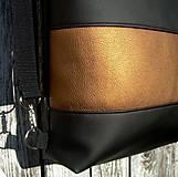 "Batohy - ""backpack 2in1 bronze"" - Batoh & taška cez rameno - 8885620_"