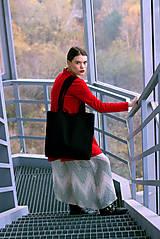 Šaty - Červené uni šaty - 8887008_