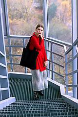 Šaty - Červené uni šaty - 8887013_