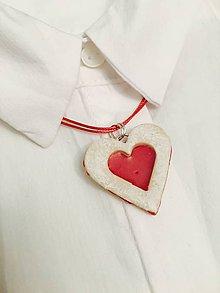 Náhrdelníky - linecké srdce - náhrdelník - 8884625_