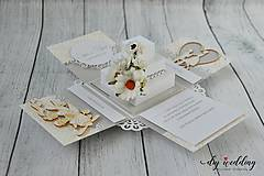 Papiernictvo - Svadobná krabička na peniaze - 8889262_