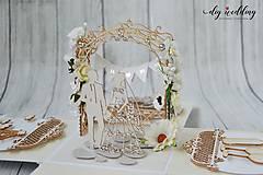 Papiernictvo - Svadobná krabička na peniaze - 8889267_