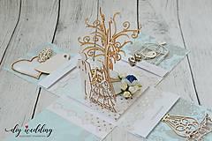 Papiernictvo - Svadobná krabička na peniaze - 8889268_