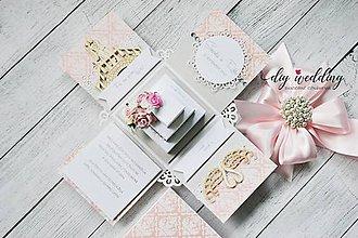 Papiernictvo - Svadobná krabička na peniaze  - 8889264_