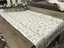 Úžitkový textil - vianočná štóla 140 x 40 cm - 8892479_
