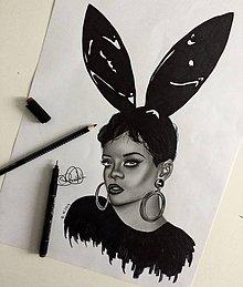 Kresby - Rihanna - 8891269_