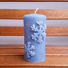 Svietidlá a sviečky - Flocon - šedá - 8892332_
