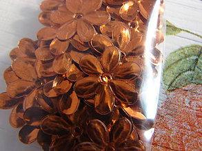 Galantéria - flitriky (Oranžová) - 8889500_