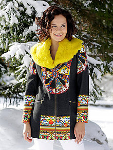 Kabáty - Originálny kabát 50% Zľava - 8892327_