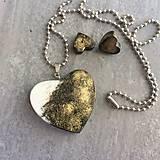 Betónový GOLDEN set HEART 02