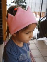Detské čiapky - čelenka- korunka - 8890361_