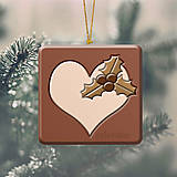 - Vianočná ozdoba ,,čokoládová