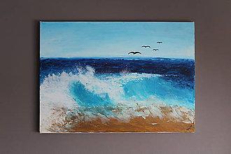 Obrazy - ocean wave - 8894308_