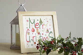 Obrázky - Obrázok Merry Christmas - 8893645_