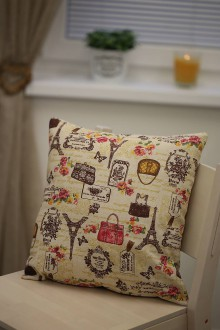 Úžitkový textil - Le BonBon pillow (vintage Paris) - 8895571_