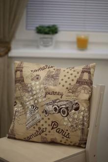 Úžitkový textil - Le BonBon pillow (Romantic Paris) - 8895648_