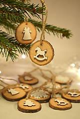 Dekorácie - Sada vianočných ozdôb - 8894902_