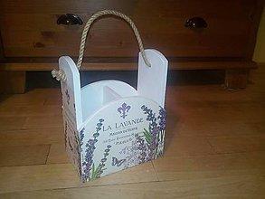 Krabičky - lavande stojan - 8896224_