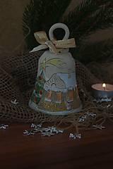 Dekorácie - zvonček-domček - 8893097_