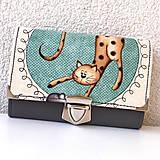 Peňaženky - Kočičí - peněženka - 8897202_