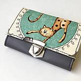 Peňaženky - Kočičí - peněženka - 8897203_